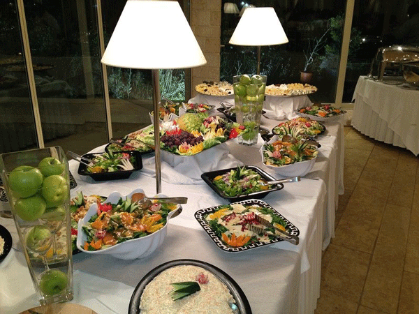 salad stand